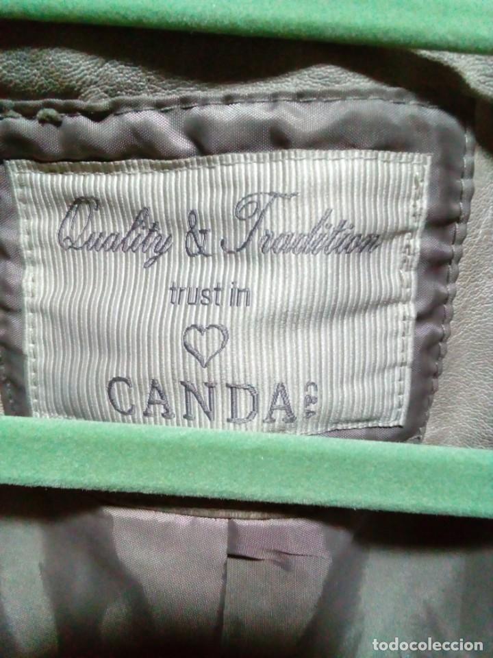 Antigüedades: chaqueta nueva de piel marca CANDA - Foto 8 - 239481590