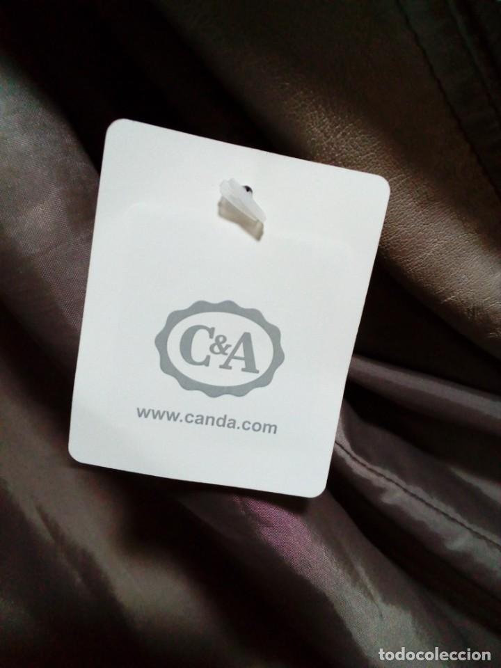 Antigüedades: chaqueta nueva de piel marca CANDA - Foto 11 - 239481590