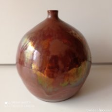 Antigüedades: FLORERO METÁLICO. Lote 239576525