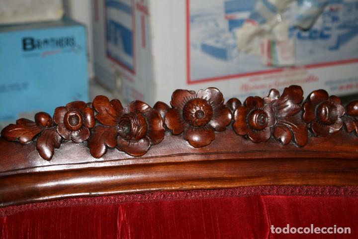 Antigüedades: Sofá Isabelino - Foto 5 - 276937128