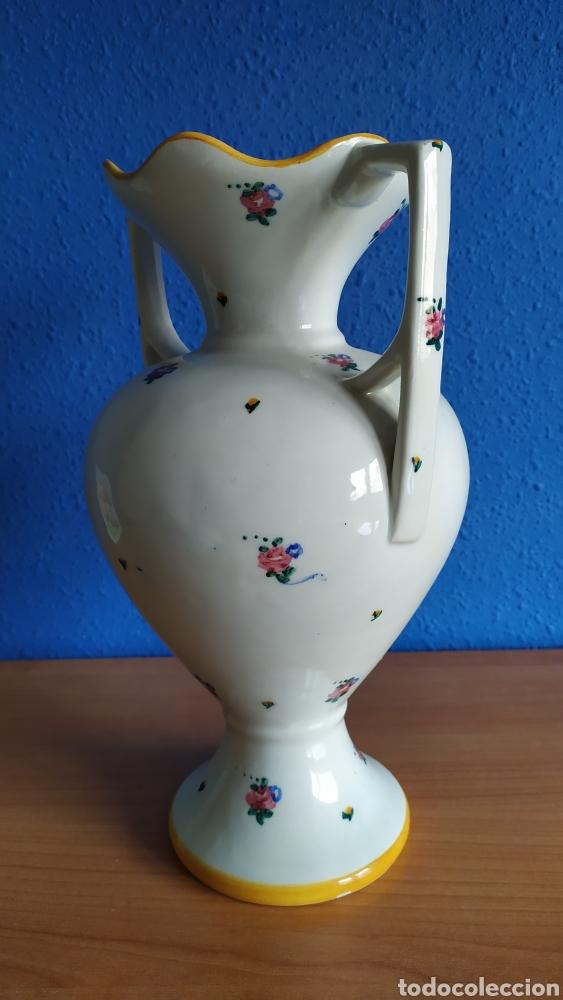 Antigüedades: Antiguo jarrón de cerámica. - Foto 2 - 262512670