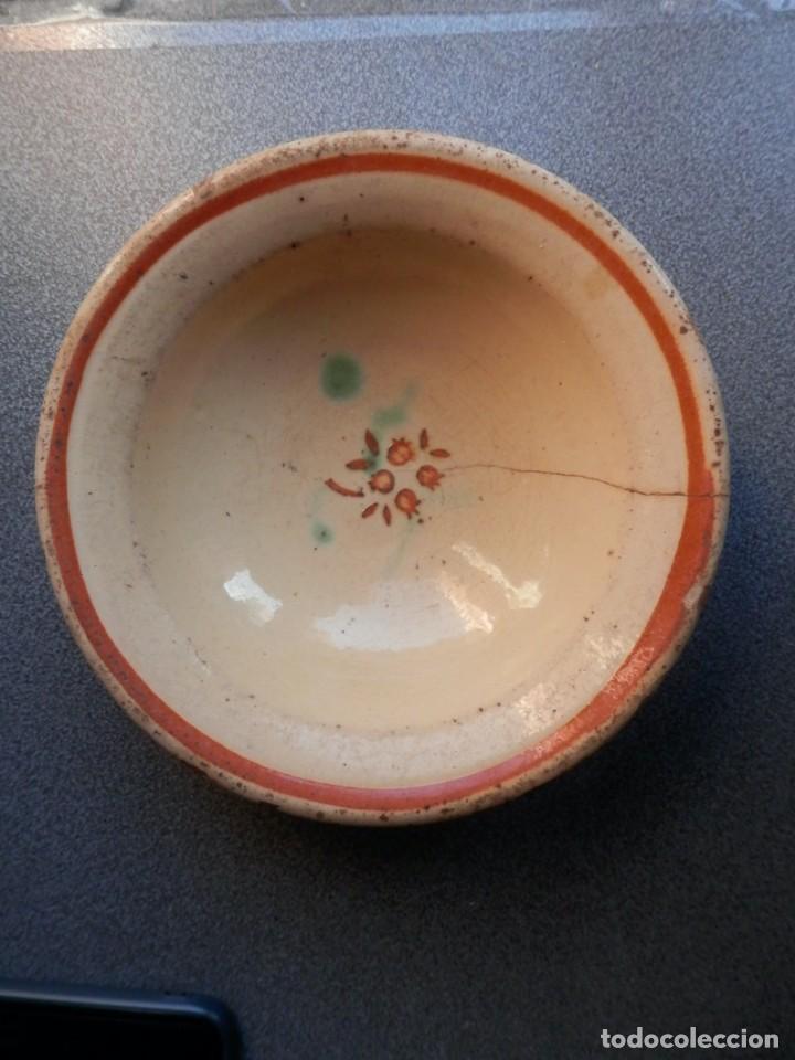 ANTIGUO CUENCO DE CERÁMICA DE LA BISBAL GERONA - 18 CENTÍMETROS DE DIÁMETRO (Antigüedades - Porcelanas y Cerámicas - La Bisbal)