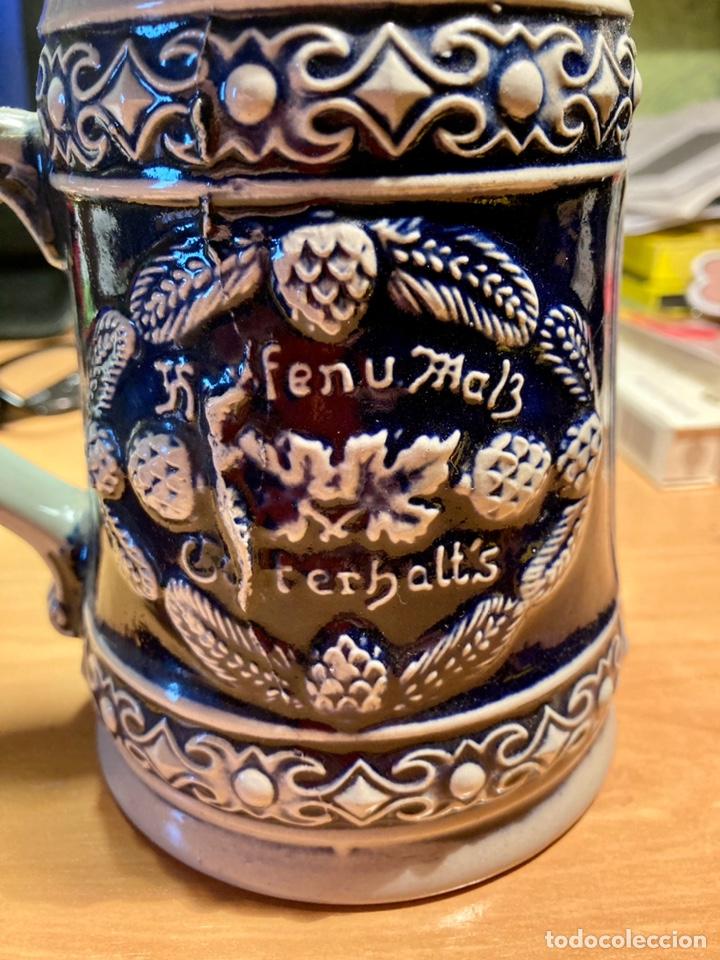 Antigüedades: Antigua Jarra de cerveza, Original Gerzit, Alemana. - Foto 2 - 239613405