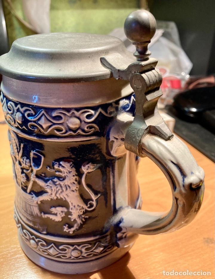Antigüedades: Antigua Jarra de cerveza, Original Gerzit, Alemana. - Foto 3 - 239613405