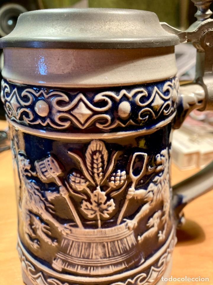 Antigüedades: Antigua Jarra de cerveza, Original Gerzit, Alemana. - Foto 5 - 239613405