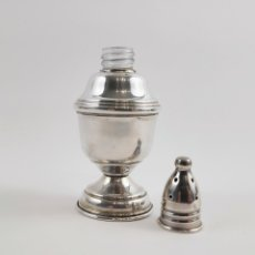 Antigüedades: ESPECIERO EN PLATA DE LEY. Lote 239683600