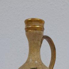 Antigüedades: EXCEPCIONAL JARRON ANTIGUO DE BARRO PINTADO A MANO. Lote 239723765