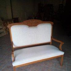 Antigüedades: BANCA MODERNISTA. Lote 239751005