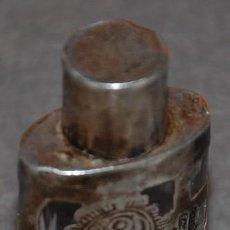 Antiquités: FRASCO PARA PERFUME PLATA DE LEY HECHO EN MEXICO 925. Lote 239926005