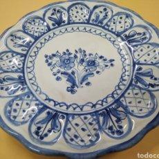 Antigüedades: PLATO DE CERÁMICA DE TALAVERA. Lote 239982240