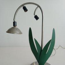 Oggetti Antichi: LAMPARA ART DECO MARCA ELISMO. DEPOSÉ.. Lote 239991900