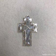 Antigüedades: RELIGIOSO. COLGANTE. CRUZ DE NÁCAR. Lote 240058760