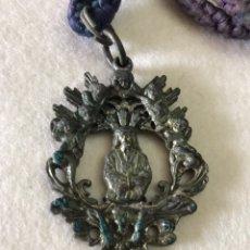 Antigüedades: RELIGIOSA. SEVILLA. ANTIGUA MEDALLA CAUTIVO DE SAN ILDEFONSO. Lote 240159370