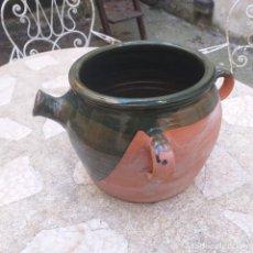 Antigüedades: HERRAO. CUENCO DE ORDEÑAR.. Lote 240170665