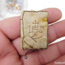 Antigüedades: ELEMENTO DE TELA RELIGIOSO MUY ANTIGUO. Lote 240249235