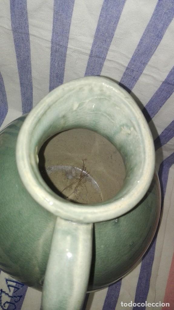 Antigüedades: GRAN JARRA JARRÓN CHINO DE CERÁMICA TIPO CELADÓN - Foto 11 - 240368600