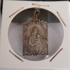 Antiguidades: MEDALLA VIRGEN MARÍA Y NIÑO JESÚS. VER FOTOS.. Lote 240391315