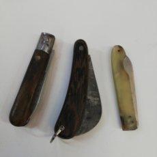 Antigüedades: LOTE NAVAJAS ANTIGUAS. Lote 240439130