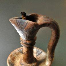 Antigüedades: ANTIGUA LÁMPARA DE ACEITE. Lote 240561565