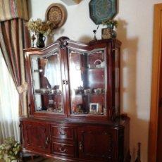 Antiguidades: VITRINA DE CAOBA. Lote 240589485