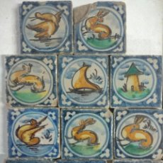 Antigüedades: OLAMBRILLAS ( AZULEJOS). Lote 240607330