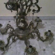 Antigüedades: LAMPARA ARAÑA BRONCE, 15KG DE PESO. Lote 240678575