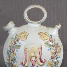 Antigüedades: BOTIJO EN CERÁMICA LEVANTINA SIGLO XIX. Lote 240700215