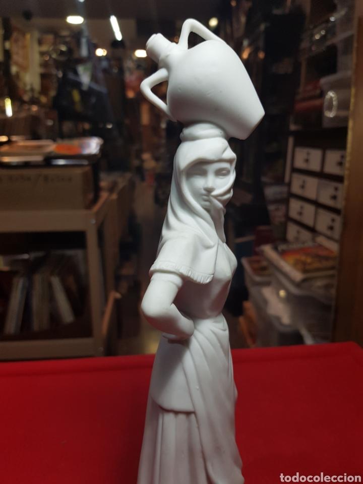 Antigüedades: Preciosa figura porcelana biscuit Bidasoa aguadora magnífica calidad - Foto 2 - 240703165