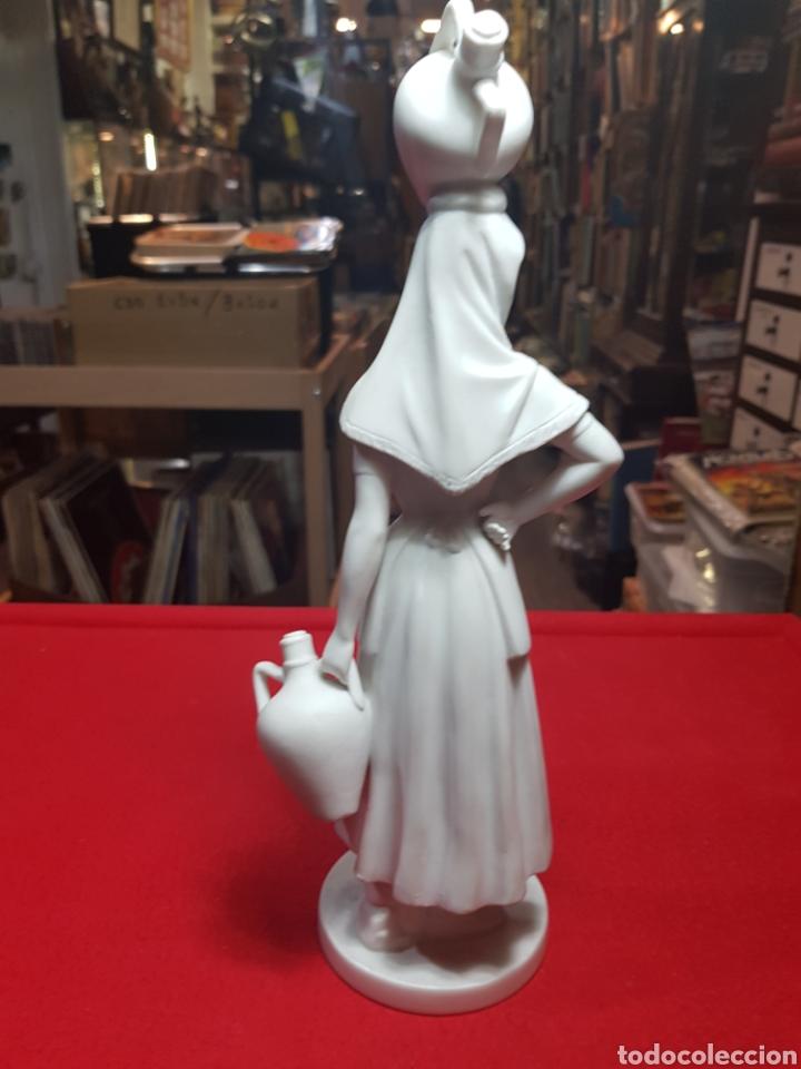 Antigüedades: Preciosa figura porcelana biscuit Bidasoa aguadora magnífica calidad - Foto 5 - 240703165