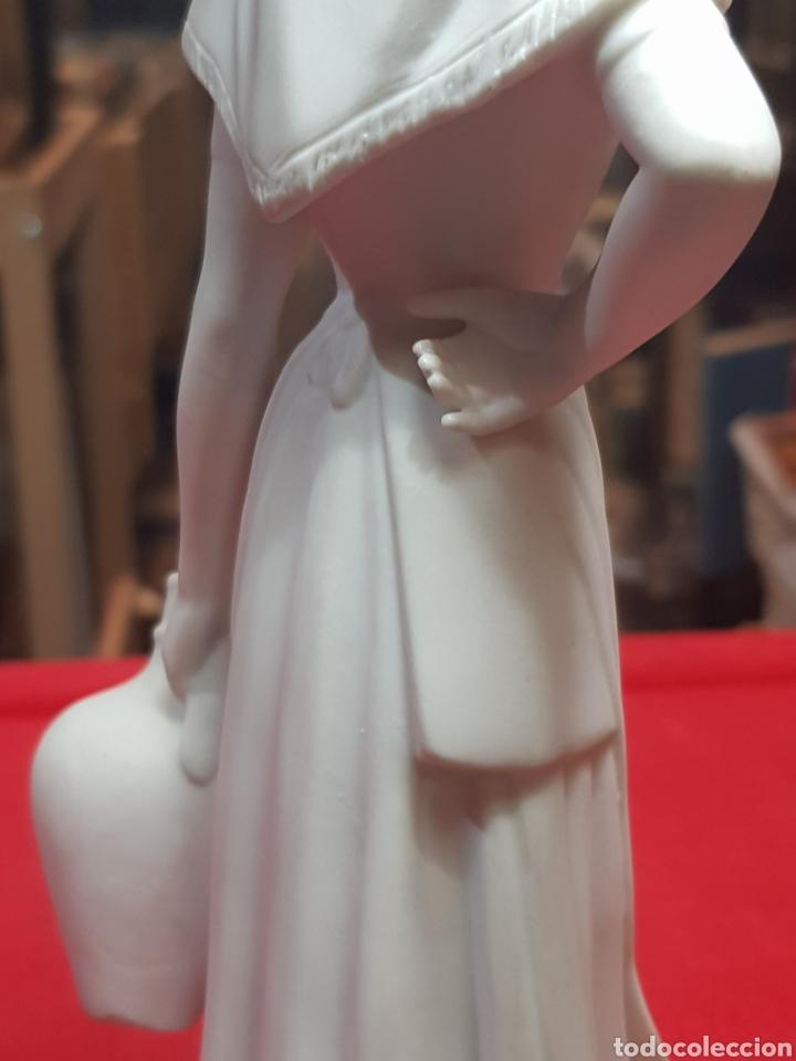 Antigüedades: Preciosa figura porcelana biscuit Bidasoa aguadora magnífica calidad - Foto 6 - 240703165