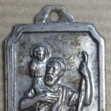 Antigüedades: MEDALLA SAN JOSE Y EL NIÑO JESÚS. Lote 240722635