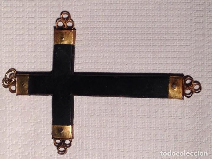 Antigüedades: Antigua Cruz en Oro - Foto 2 - 240764375