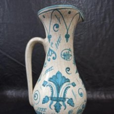 Antigüedades: PRECIOSA JARRA PARA VINO. BENLLOCH. AL. Lote 240767190