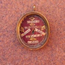 Antigüedades: RELICARIO CON RELIQUIA STA: ANA, FILOMENA, LIBERADA, LUCIA, VELO V. MARIA SAN CAYETENO EPOCA ( 1800). Lote 240797165
