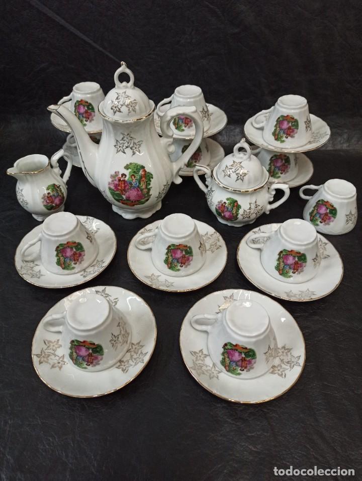 CONJUNTO DE 12 SERVICIOS DE CAFÉ O TÉ. C43 (Antigüedades - Porcelana y Cerámica - Japón)