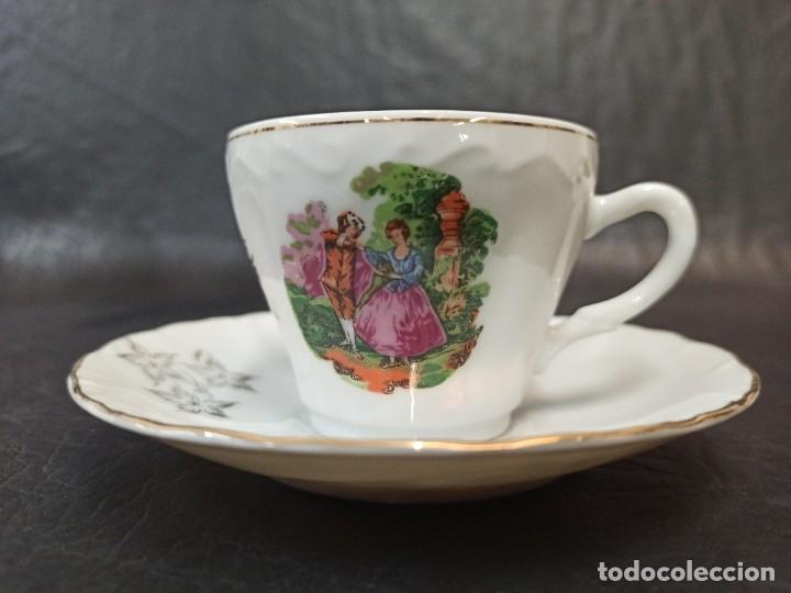 Antigüedades: Conjunto de 12 servicios de café o té. C43 - Foto 2 - 240812040