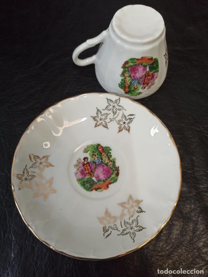 Antigüedades: Conjunto de 12 servicios de café o té. C43 - Foto 3 - 240812040
