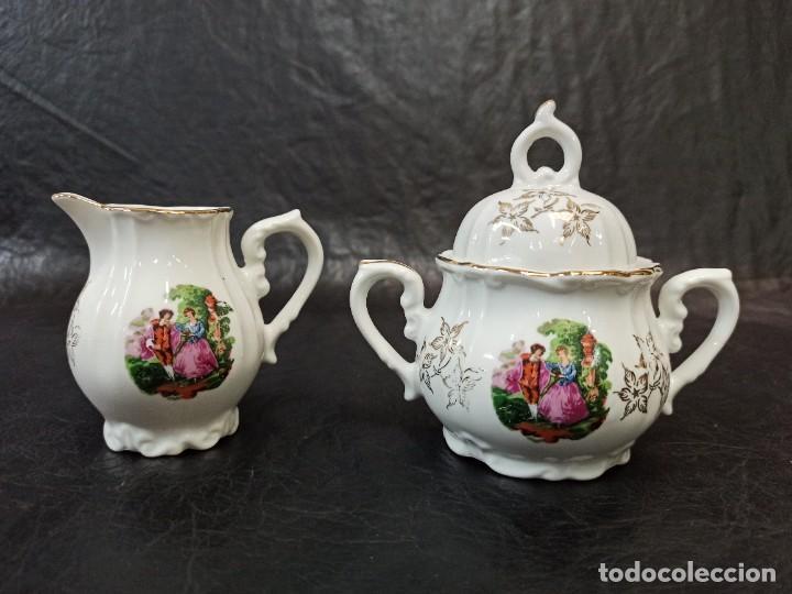 Antigüedades: Conjunto de 12 servicios de café o té. C43 - Foto 5 - 240812040