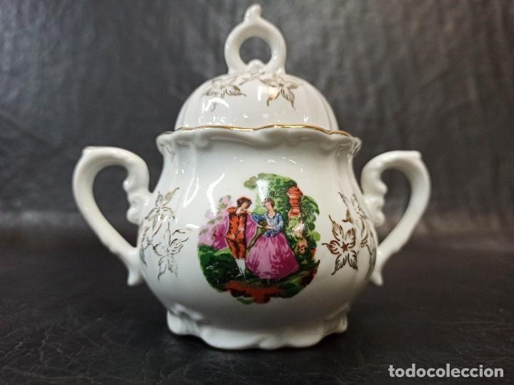 Antigüedades: Conjunto de 12 servicios de café o té. C43 - Foto 6 - 240812040