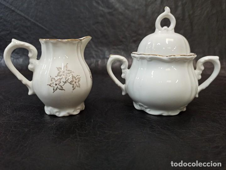 Antigüedades: Conjunto de 12 servicios de café o té. C43 - Foto 7 - 240812040