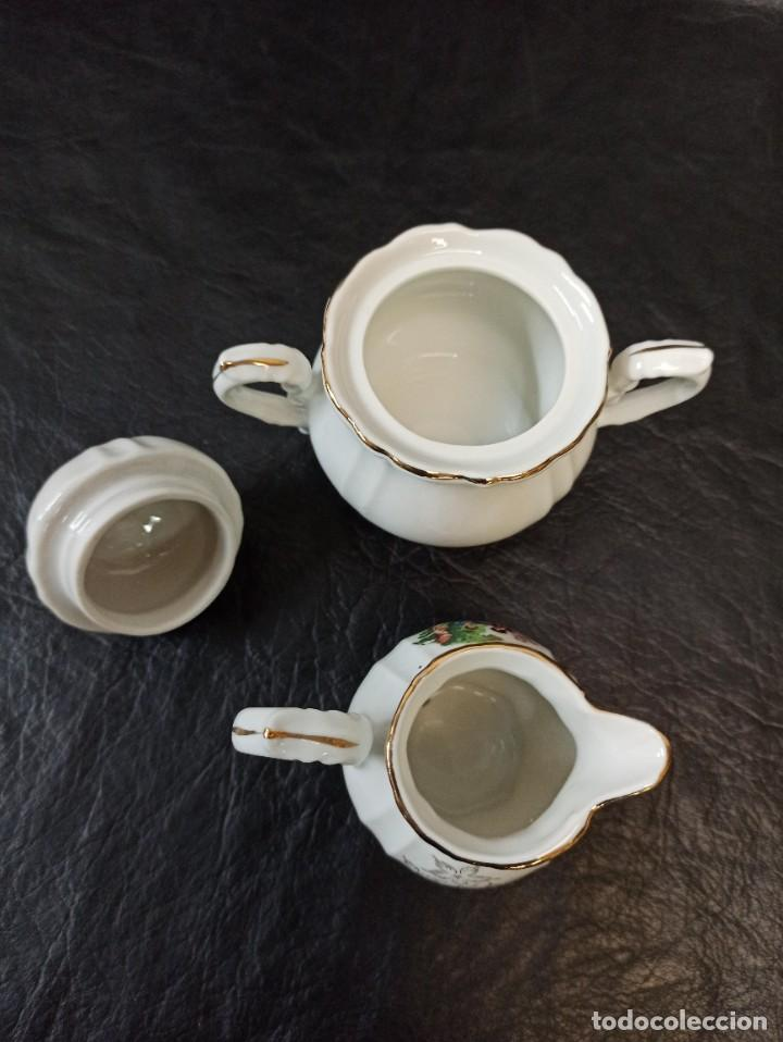 Antigüedades: Conjunto de 12 servicios de café o té. C43 - Foto 9 - 240812040