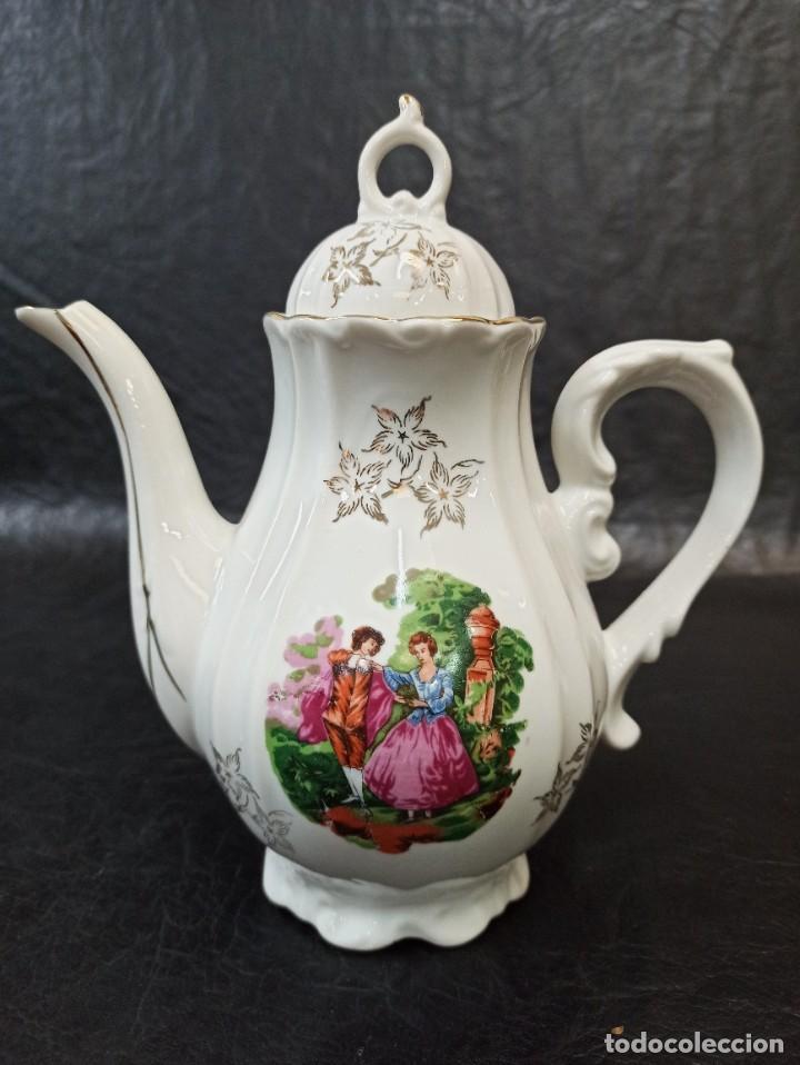 Antigüedades: Conjunto de 12 servicios de café o té. C43 - Foto 11 - 240812040