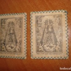 Antiquités: ECAPULARIOS NRA. S. DE LOS DESAMPARADOS. Lote 240813070