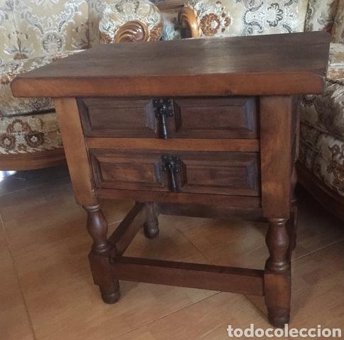 MESILLA CASTELLANA DE NOCHE (Antigüedades - Muebles Antiguos - Auxiliares Antiguos)