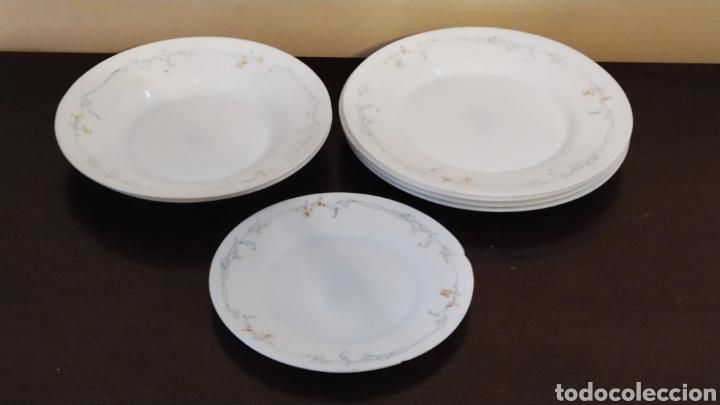 Antigüedades: ★7★ Platos Vajilla ARCOPAL de porcelana. Selladas. - Foto 3 - 240864120