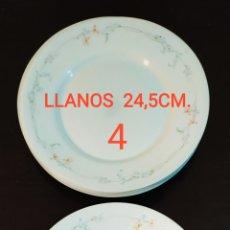 Antigüedades: ★7★ PLATOS VAJILLA ARCOPAL DE PORCELANA. SELLADAS.. Lote 240864120