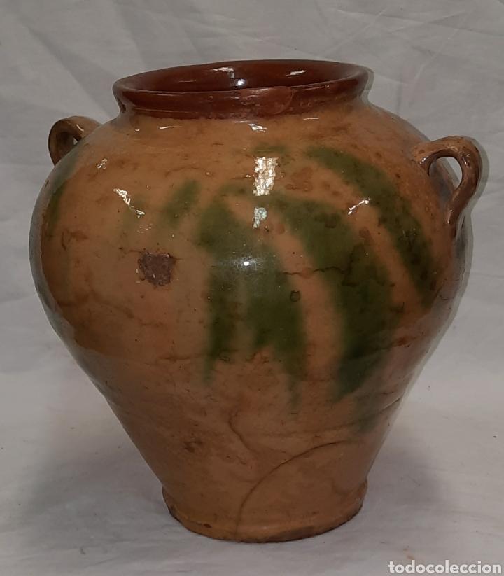 Antigüedades: Antigua Orza jarra Catalana de la Bisbal ( terrissa) - Foto 2 - 240877715