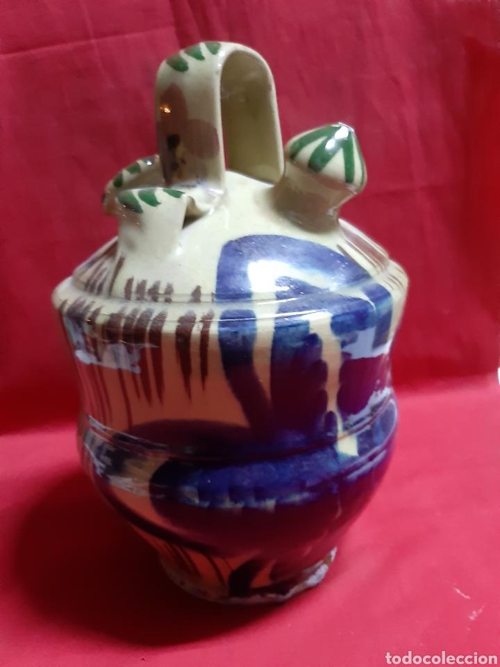Antigüedades: Antiguo botijo en cerámica - Foto 2 - 240905140