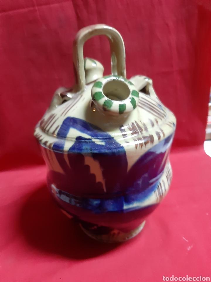 Antigüedades: Antiguo botijo en cerámica - Foto 3 - 240905140