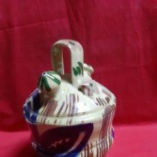 Antigüedades: ANTIGUO BOTIJO EN CERÁMICA. Lote 240905140